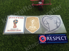 2018 World Cup Qualifiers Soccer Sleeve Patch Set for Germany Euro Qualifiers