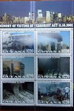 the memory of the terrorist attack on the twin towers USA Guyana 2001-2016