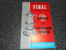 1967 F A CUP FINAL :  CHELSEA  v  TOTTENHAM HOTSPUR ' SPURS '  @ WEMBLEY  MAY 20