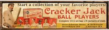 Antique Style OLD JUDGE & CRACKER JACK SIGN COMBO 9x36 each