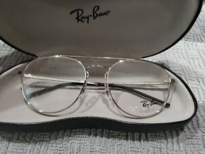 Ray Ban RB 6414 2501 Eyeglass  frames Silver 53 18 140 New