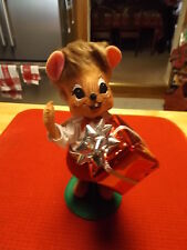 AnnaLee Silver sparkle Boy Mouse
