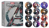 MARVEL STUDIOS CINEMATIC UNIVERSE 23-MOVIE COLLECTION (12-Disc DVD Set)