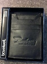 Travelwell BLACK Leather Pocket WALLET/Magnetic MONEY CLIP RAYBESTOS Brakes NEW