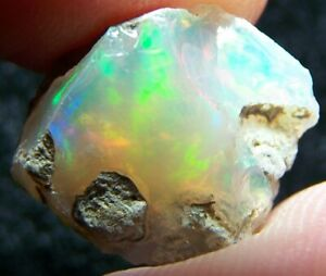 Ethiopian Opal Welo Rough * SEE VIDEO 8.67 CTs Bright 5/5 AAA Fire USA DEALER