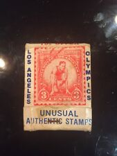 Early Antique Matchbook Los Angeles CA Olympic Games