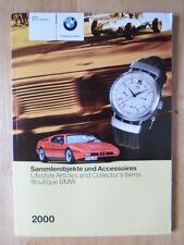 BMW Boutique orig 2000 prestige brochure - Models Books Prints Collectables etc