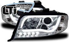 Fari Anteriori Dayline Daylight LTI CCFL Light Tube Audi A6 (C5 FL) 01-04 Cromo