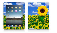 iPad 2 or 3 - Sunflower Nature Scene - Vinyl Skin Sticker Cover