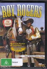 ROY ROGERS - VOLUME 1 - DVD - 3 CLASSIC EPISODES - NEW