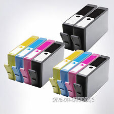 10PK 564XL Ink CHIPS INCLUDED For HP 564XL Photosmart 5510 5520 6510 7510 5511