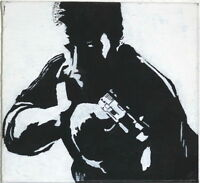 Gemälde - SPLINTER CELL Sam Fisher - Porträt handgemalt Leinwand Malerei Pop Art