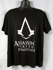 ASSASSINS CREED Mens Black Syndicate Logo T- Shirt Size XL NWT