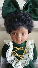 """DIANE porcelain doll African American 16"""" LTD Edition for Federated Dept. Stores"""