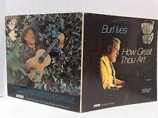 1971 Burl Ives How great thou art vinyl LP  WORD WST-8537 MINT
