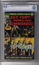 Sgt Fury and His Howling Commandos # 130 CBCS 9.8 White Pages