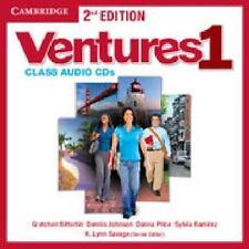 Ventures Level 1 Class Audio CDs (2) Audio CD Bitterlin, Gretchen . Condition Ac