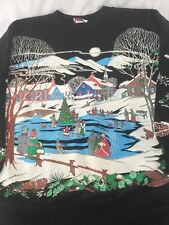 WOMENS NUT CRACKER UGLY CHRISTMAS TOP SWEATER SWEATSHIRT SIZE 18 XL