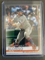 2019 Topps Update Pete Alonso RC US198 RC Rookie Debut New York Mets