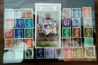 Queen Elisabeth II Great Britain  Briefmarken Stamps Sellos Timbres