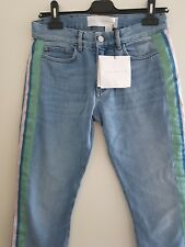 Low Rise Straight Leg Jeans Victoria Beckham size UK25 brand new with tags