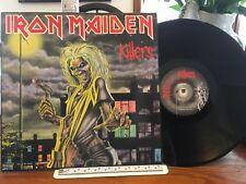 IRON MAIDEN Killers LP NM/EX ORIGINAL DUTCH PRESS EMI 1A 062-07450