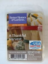 Better Homes & Gardens Scented Wax Cubes A Thankful Harvest, 2.5 fl Oz