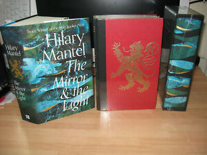 Hilary Mantel - The Mirror & Light 3 Signed 1st slipcased cloth limited variants