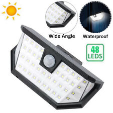 Outdoor Waterproof 48 Led Solar Light Motion Sensor Garden Security Lamp 3 Modes