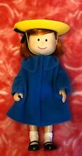 Madeline 8� Posable Doll With Outfit Blue Coat And Hat New Fast Usps Ship