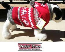 Dog Holiday Christmas Warm Sweater Cozy Pet Warm Comfortable Hoodie XS - Medium