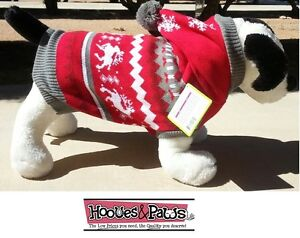 Dog Holiday Christmas Warm Sweater Cozy Pet warm Comfortable Hoodie XS - Medium