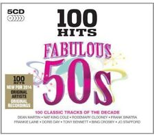 Various Artists - 100 Hits-Fabulous 50's / Various [New CD] UK - Import