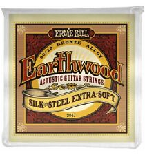 Ernie Ball 2047 - Jeu de cordes guitare acoustique - Earthwood 80/20 Bronze - E