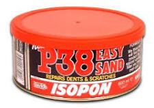 U-POL DAVIDS ISOPON P38 600ml EASY SAND BODY CAR FILLER REPAIRS DENTS SCRATCHES