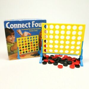 CONNECT FOUR Game Replacement Pieces Parts Checkers Board Milton Bradley