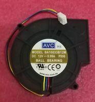 1PCS  AVC C3010S12H Fan 30*30*10 12V 0.10A 3pin #M594 QL