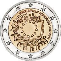 Allemagne 2015 Drapeau Europeenne monnaie: D