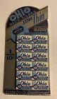 Vintage Ohio Blue Label Extra Thin Razor Blades NOS Full Sealed Unopened