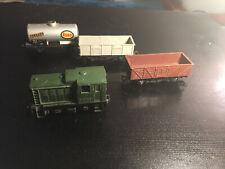 Jouef Train locomotive Ho 838 Tracteur diesel D.2705 BR + 3 wagons