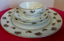 FINE CHINA  JAPAN   #7223  ROSEBUD 4 PIECE PLACE SETTING Discontinued