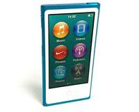 Apple iPod nano 7th Generation (Late 2012) Blue (16GB)