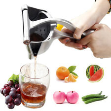 Manual Juicer Hand Juice Press Squeezer Fruit Juicer Extractor Stainless Steel