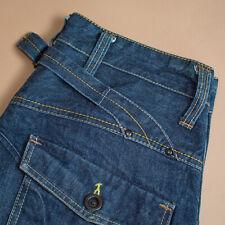 Vintage GStar Elwood Jeans Straight Leg Button Fly Blue (LabelW33L34) W 30 L 32