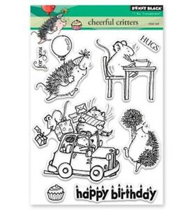 Penny Black clear stamp SET- cheerful critters 30-426, Motivstempel