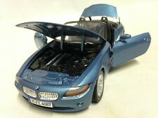 Bmw Z4 Collectibles, 7 inch Diecast, 1:24 Scale By MotorMax Toys, Blue