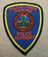 CA Tulare-Kings Counties California Police Academy Patch