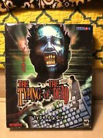 Typing of the Dead (Type or Die) PC Game Win 95/98 CD big box, manual, RARE
