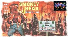 "COVERSCAPE computer designed 75th anniversary birth of ""Smokey Bear"" event cover"