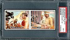 1950 Bring Em Back Alive #77-97 Two (2) Card Panel BEAUTIFUL NM PSA 7